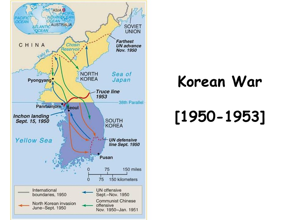 Korean War [1950-1953] Ch 15 Sec 3 China Korea 04 26 12